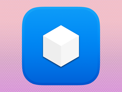 Boxie is OUT! boxie dropbox ios7 ios iphone icon adobe fireworks fireworks vector