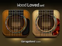 GarageBand icons