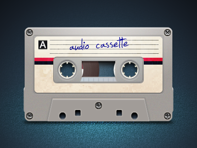 Audio cassette music vector fireworks adobe fireworks audio tape audio cassette audio