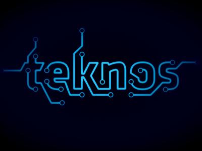 Teknos (logo proposal) logo branding identity game vector adobe fireworks fireworks