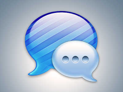 Messages Icon PSD psd icon app mac apple imessage messages photoshop