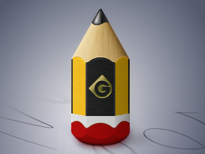 Pencil Icon wood paper pencil icon vector fireworks adobe fireworks
