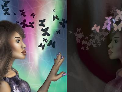 Unleash Creativity vector illustration design