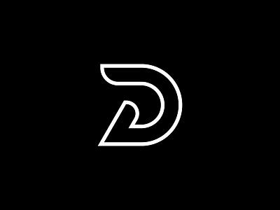 D vector flat illustration typography logo design minimal logo design adobe illustrator