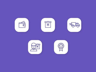 Shipping Icons People Usually See in Online Marketplace shipping score truck delivery minimal vector people icon business outline flat design branding concept icons set marketplace adobe illustrator