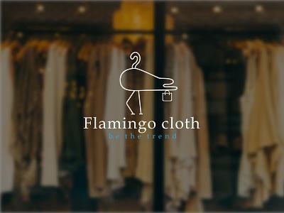 Modern minimalist Clothing Brand Business Logo minimalist logo flemingo logo logodesign logo design graphic design freelancerdipu flat design brand logo design brand logo branding brand identity brand