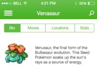 Bio view venasaur