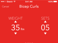 Exercise setup