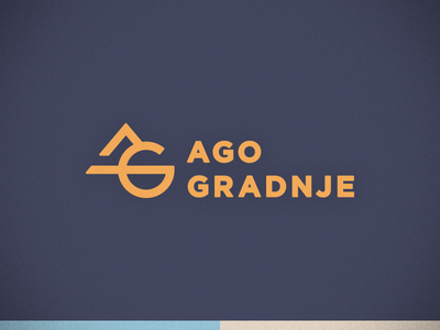 Ago Gradnje icon branding logotype logo identity brand
