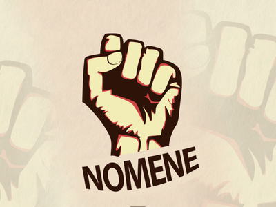 Nomene icon vector design illustration