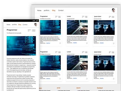 Portfolio portfolio minimal design web ux ui app