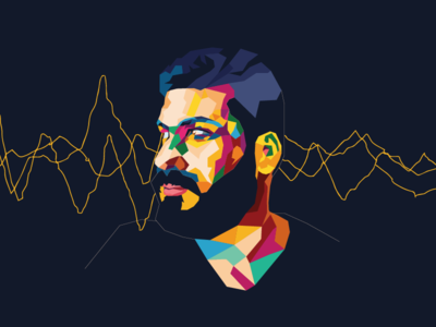 Colors and shapes Portrait