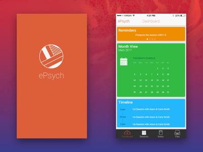 ePsych App  concept - It0