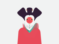 Amazigh Geisha Robot - Ghost In Shell