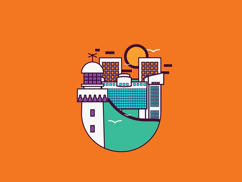 U - Artwork for X-HUB Casablanca moroco color casablanca tub hub