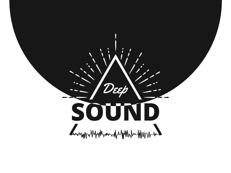 DeepSoung Logo illustration music logo sound