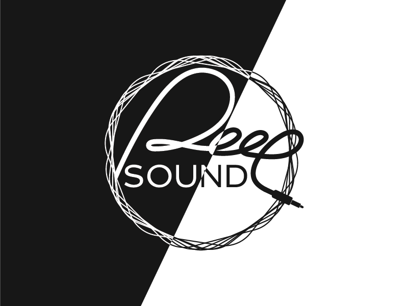 DeepSoung Logo Iteration 3 illustration music logo sound