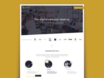 Kaokeb Website - UX/UI