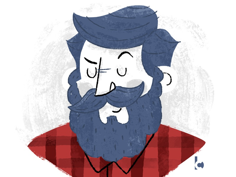 For the non-shavers  by Colby H Bryant | Dribbble | Dribbble
