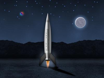 SublimeVideo Launch Rocket