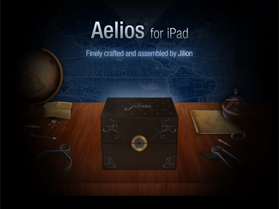 Aelios for iPad Teaser Page