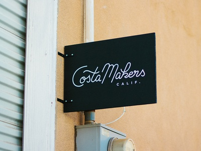Costa Makers Sign