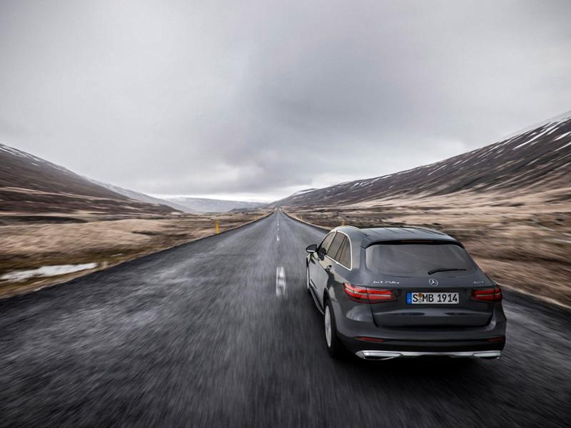 Mercedes GLC - Iceland 3d iceland hdri car mercedes backplate vray cinema 4d c4d