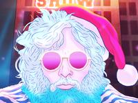 Rock Star Santa