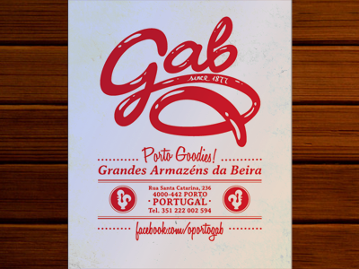 Gab flyer dribbble