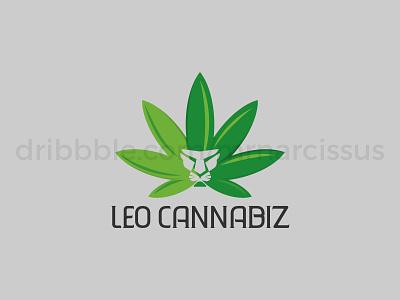 Leo Cannabiz minimal icon vector illustration illlustrator illustrations illustrator graphicsdesign logotype graphics graphic design logodesign logo design logo