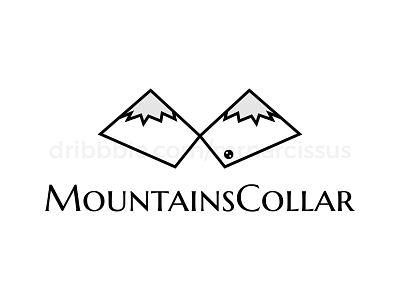 MountainsCollar logodesigner logos illlustrator vector minimal logo design illustrator logotype logodesign logo illustrations graphic design