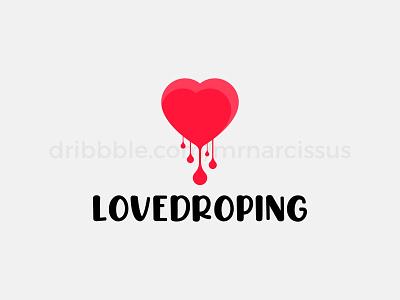 LoveDroping graphicdesign graphic design graphic logodesigner logodesign logos logo design logotype logo