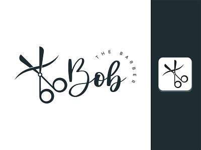 Bob The Barber logodesign illlustrator logotype logo illustrator scissorfiesta scissors scissor the barber the barber barber logo barber shop barbershop barbers barber