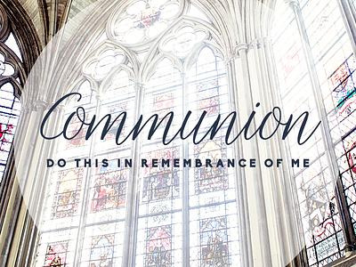 Communion design church me remembrance this do slide announcement communion