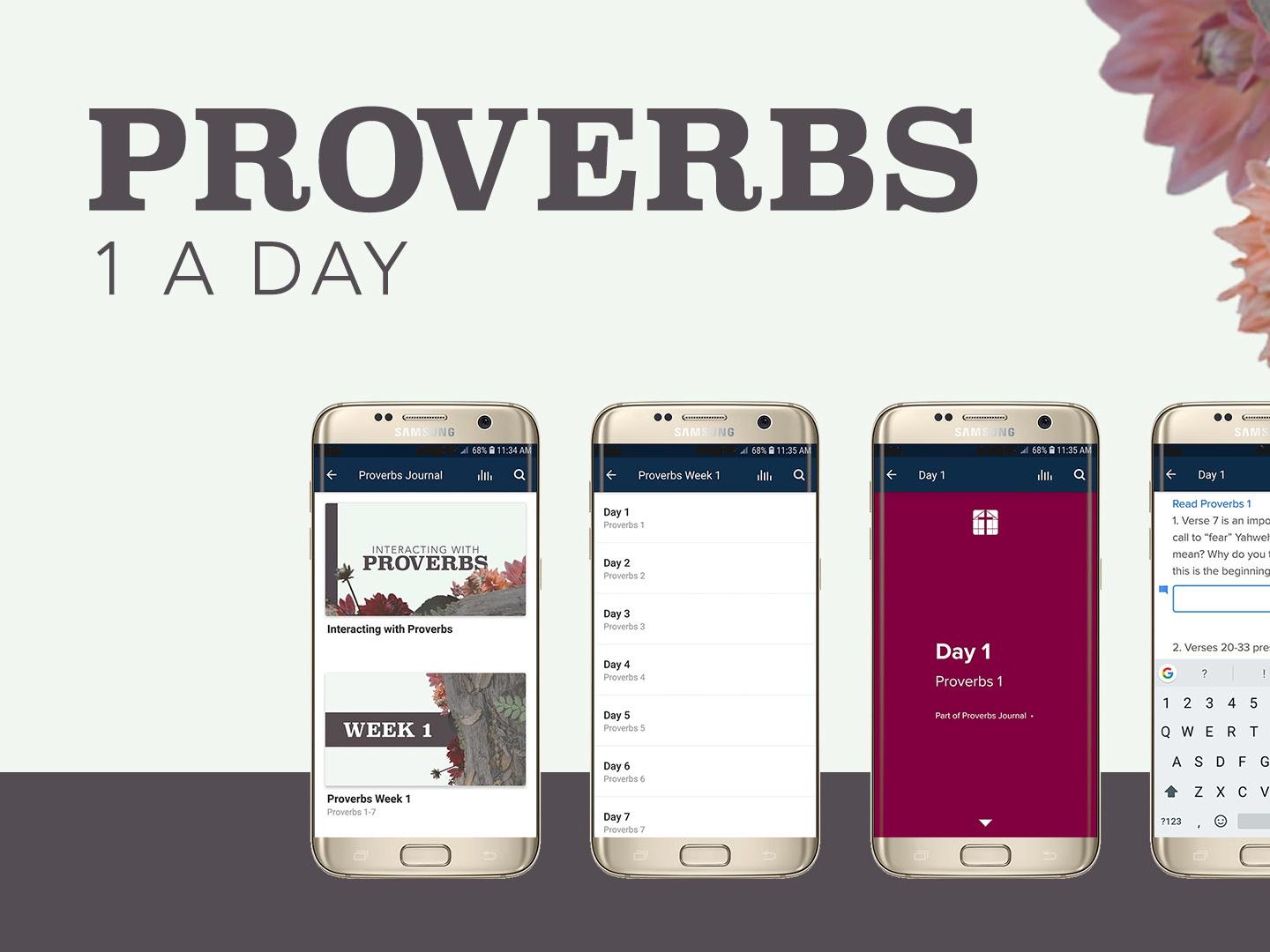 Proverbs Devotional Slide by Leah Jayne Hess on Dribbble