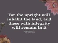 Proverbs Social Media Post