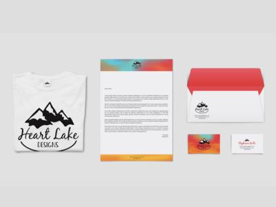 Heart Lake Designs Branding