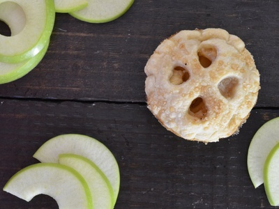 Mini Apple Pie Food Photography