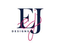 EJ Designs logo design (rejected)