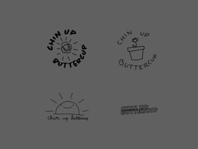 chin up buttercup teeshirt designs