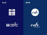 CEFC Church logo redesign