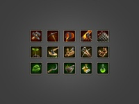 Mini icon set