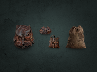 Bag icons for medieval themed game