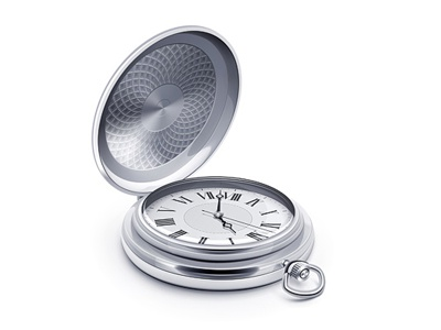 Pocket Watch vector watch illustration