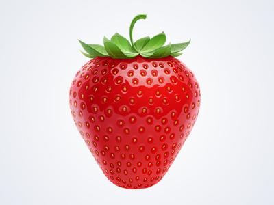 Strawberry strawberry food illustration vector