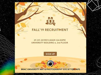Club Recruitment Poster recruitment