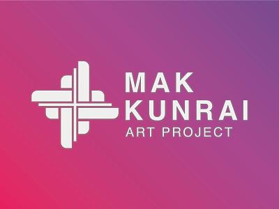 MAKKUNRAI ART PROJECT LOGO DESIGN design illustration branding costum logo graphic design logo design minimalist logo concept logo logo