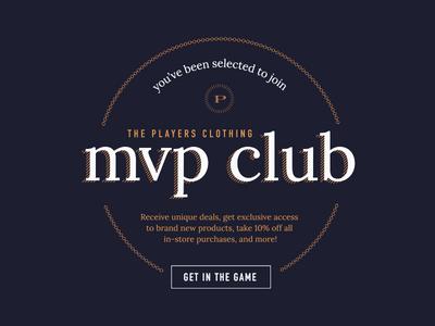 MVP Club Invite