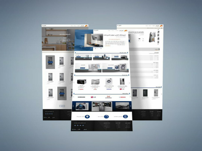 Home Appliance shop ui design  home appliance shop