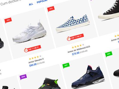 Allaia - eCommerce HTML Template listing shopping fashion catalog store shop ecommerce themeforest